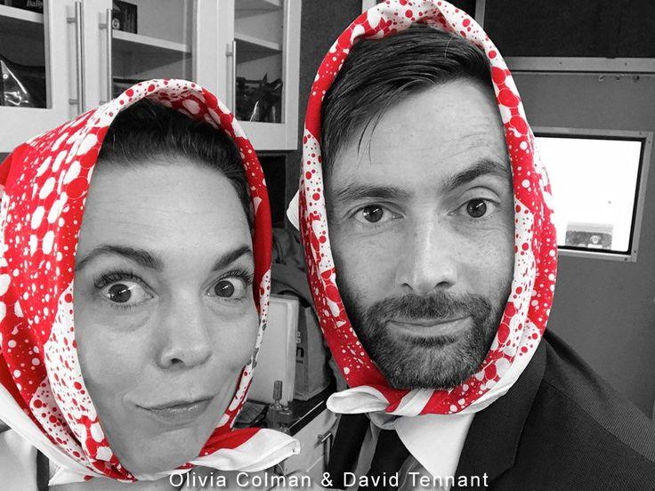 David Tennant & Olivia Colman Support The Silas Pullen Fund http://tennantnews.blogspot.com/2016/10/david-tennant-olivia-colman-support.html