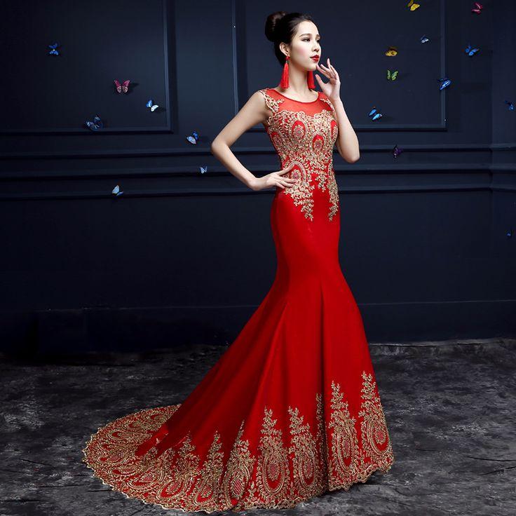 Vestido 2015 duplo ombro rabo de peixe rendas noiva vestido de noite elegante longo sereia vestido de baile formal(China (Mainland))