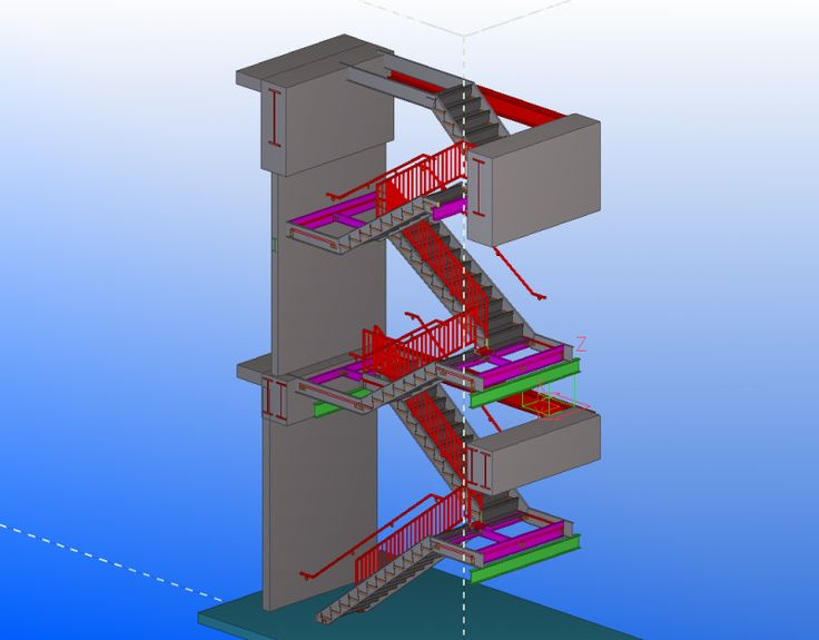 Best Shop Drawings For Fire Stairs 218 West 18Th Street New 400 x 300