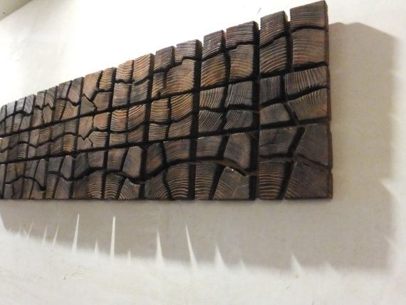 Unique Wooden Wall Art 40 x 12 x 1 Home by UniqueWoodArtwork, $120.00