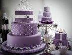 24+ Cute Ideas, Purple Wedding Cakes   Wedding Cake Ideas
