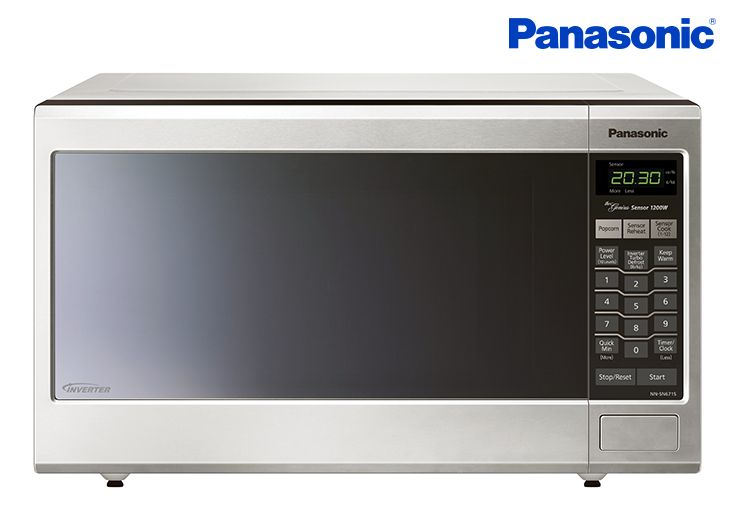 Panasonic Genius Ft Countertop Microwave Stainless Steel At Lowe S Canada Find Our Selection Of Microwaves The Lowest Price Guaranteed With