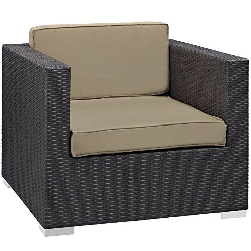 Modway Convene Outdoor Patio Armchair Espresso Mocha For Sale  Https://patiodiningset.review