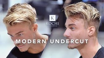 Men´s hairstyles 2017 [] Comb Over Undercut by Kochi - YouTube