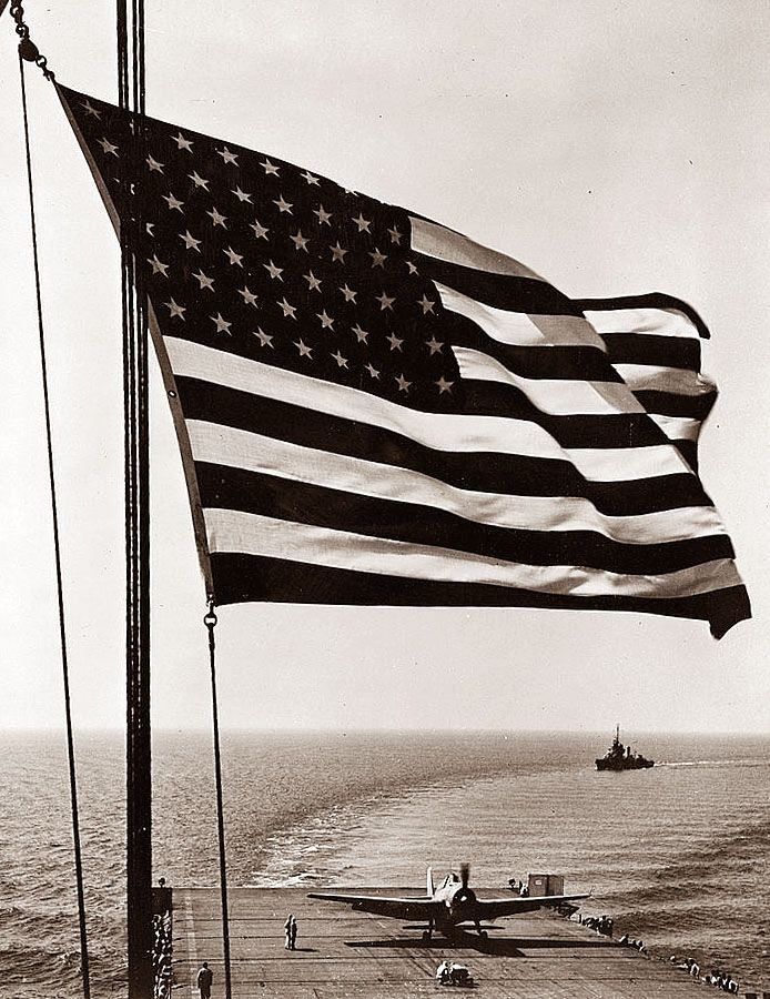 Our Flag during WWII