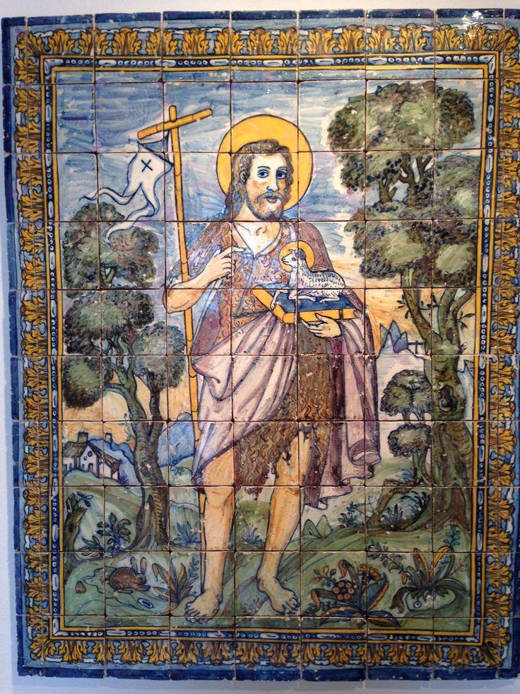 Museu Nacional do Azulejo, Lisbon, Portugal