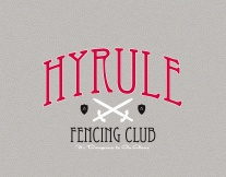 If you grew up knowing Zelda, you would understand... Hyrule Fencing Club t-shirt -- $20.00