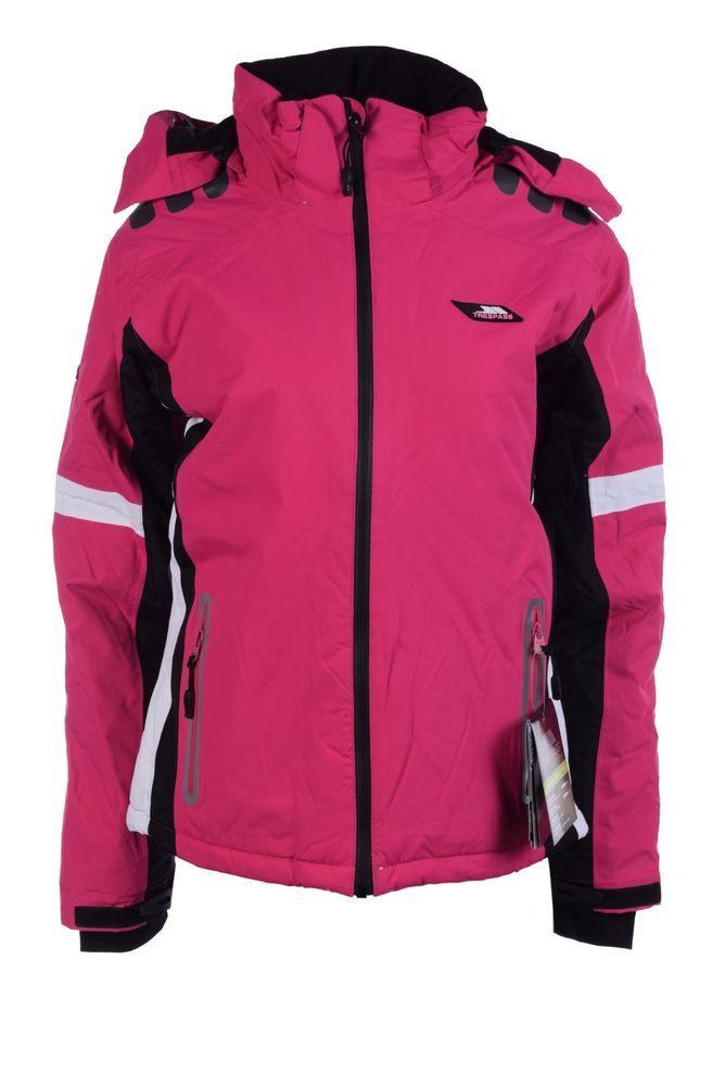 Pink Jacke Trespass Damen SizeL Women Skijacke Outdoor bgYfv76y