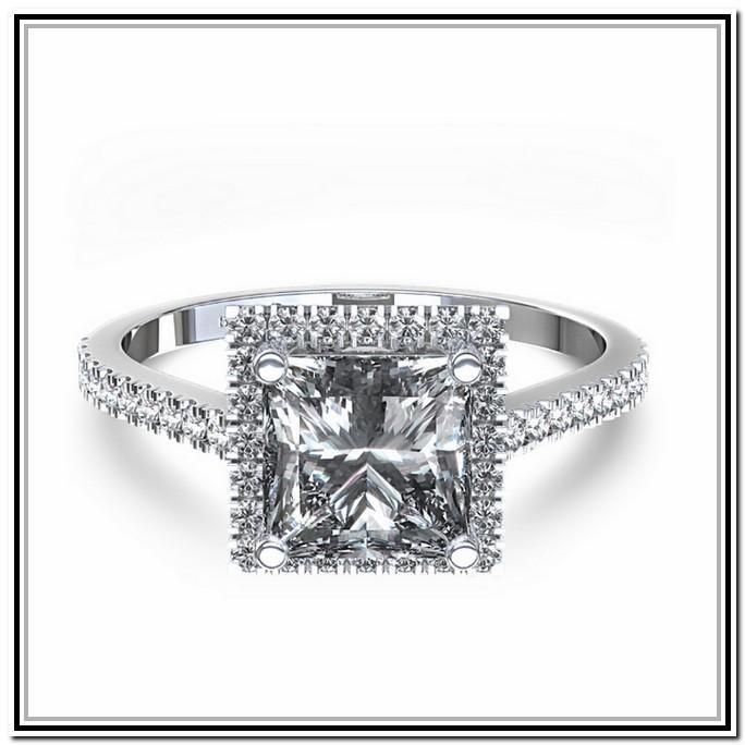 Princess Cut Engagement Rings Canada 18