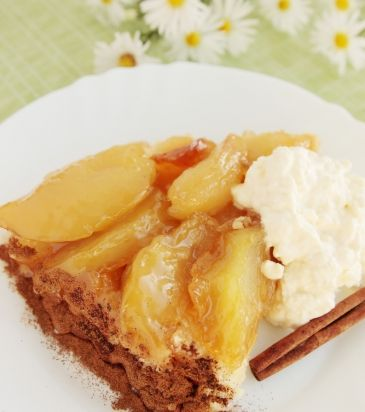 Τάρτα με κρέμα ζαχαροπλαστικής και καραμελωμένα αχλάδια   Γιάννης Λουκάκος