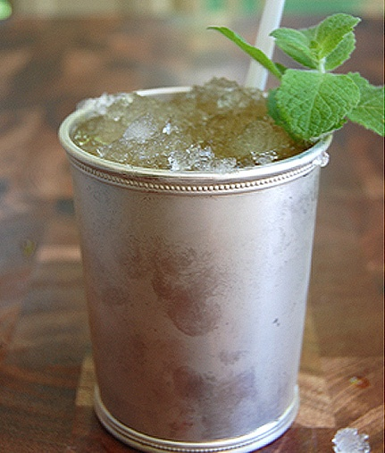 Mint Julep for Camping this weekend