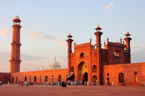Badshahi Mosque, Lahore, Punjab, Pakistan.