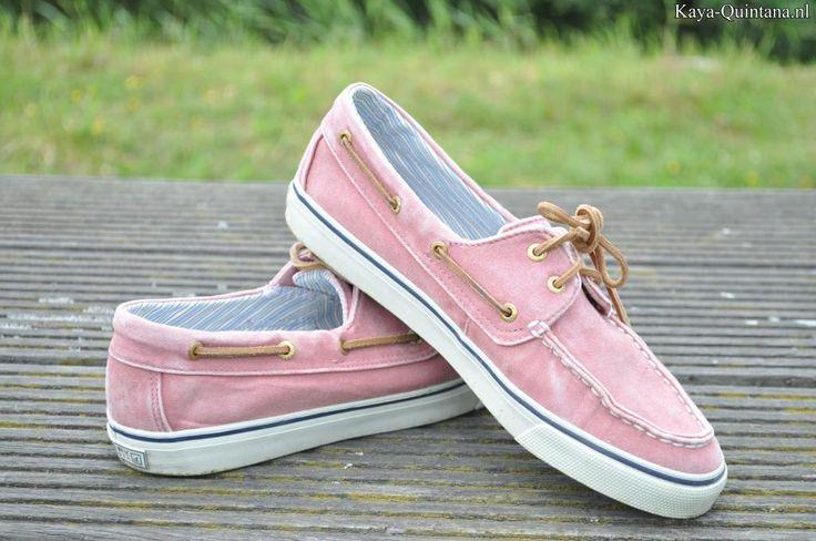 sperry roze bootschoenen