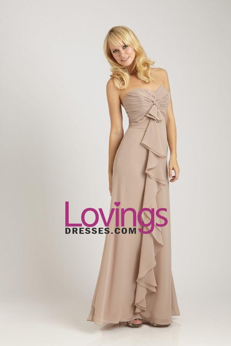 Bridesmaid Dresses A-Line Sweetheart Floor Length Chiffon Chic&Modern US$ 99.99 LDPLPLNY5Q - lovingsdresses.com for mobile