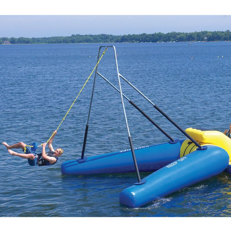 Overton's : RAVE Rope Swing - Watersports > Trampolines & Water Toys > Bounce Platforms :