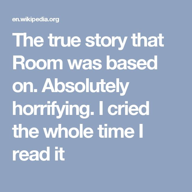 The true story that Room was based on.  Absolutely horrifying.  I cried the whole time I read it