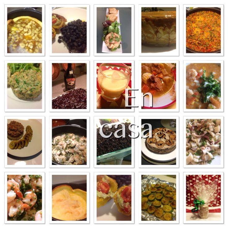 Variedad de comidas By Carolina @lacasArt