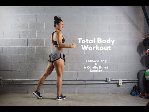 Carmen Morgan   Trainer Guide Exercise Total Body Workout! - YouTube
