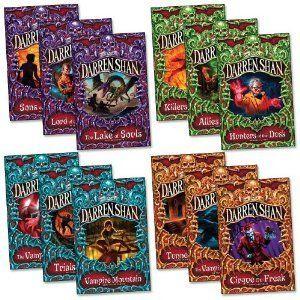 The Saga of Darren Shan set, 12 books collection pack RRP £71.88 Allies of Night /Cirque du Freak,/ Hunters of Dusk / Killers of Dawn /Lake ...