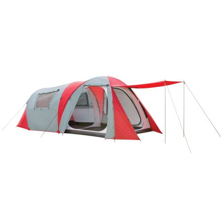 Retreat 180 4 Person Tent v2 - Red/Grey