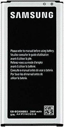 Samsung Galaxy S5 Battery EB-BG900BBU/BC/BZ , 2800mAh POWER  https://topcellulardeals.com/product/samsung-galaxy-s5-battery-eb-bg900bbu-bc-bz-2800mah-power/  2800mAh is enough power to get you through the day Original Samsung Galaxy S5 Battery Part# EB-BG900BBU/BC/BZ