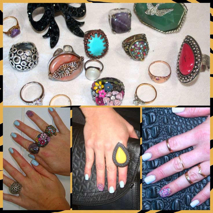 HOW TO ACCESSORISE WITH RINGS