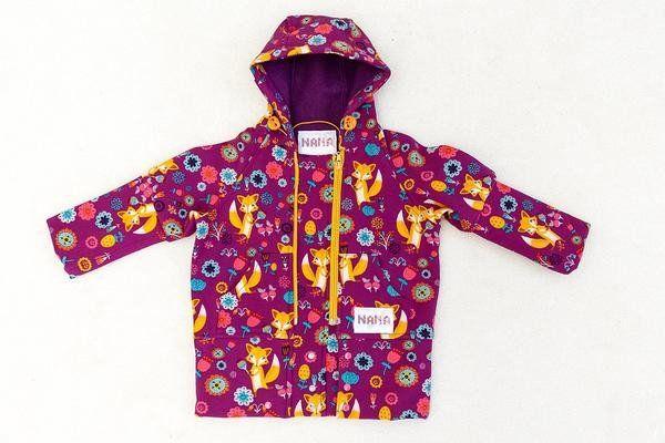 coat for kids orange-fox – NANA wear