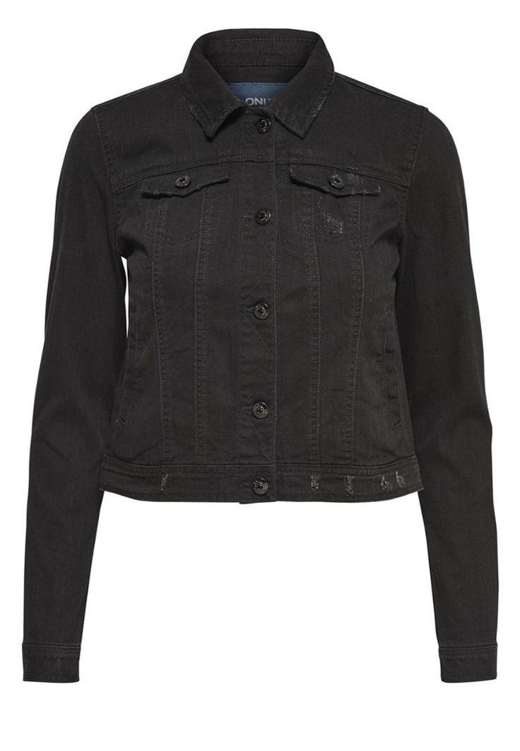 ONLY Spijkerjas black, 69.99,  Meer info via http://kledingwinkel.nl/shop/kleding-2/only-spijkerjas-black-2/