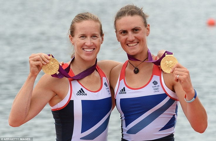 Helen Glover and Heather Stanning (Rowing)
