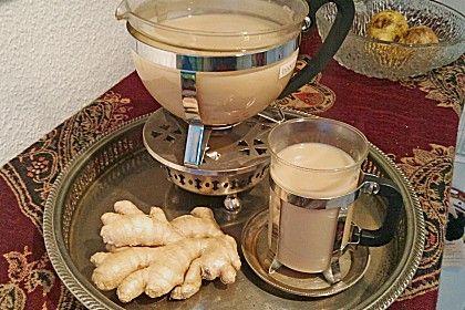 Schwarzer Tee mit Ingwer und Milch (Rezept mit Bild) | Chefkoch.de