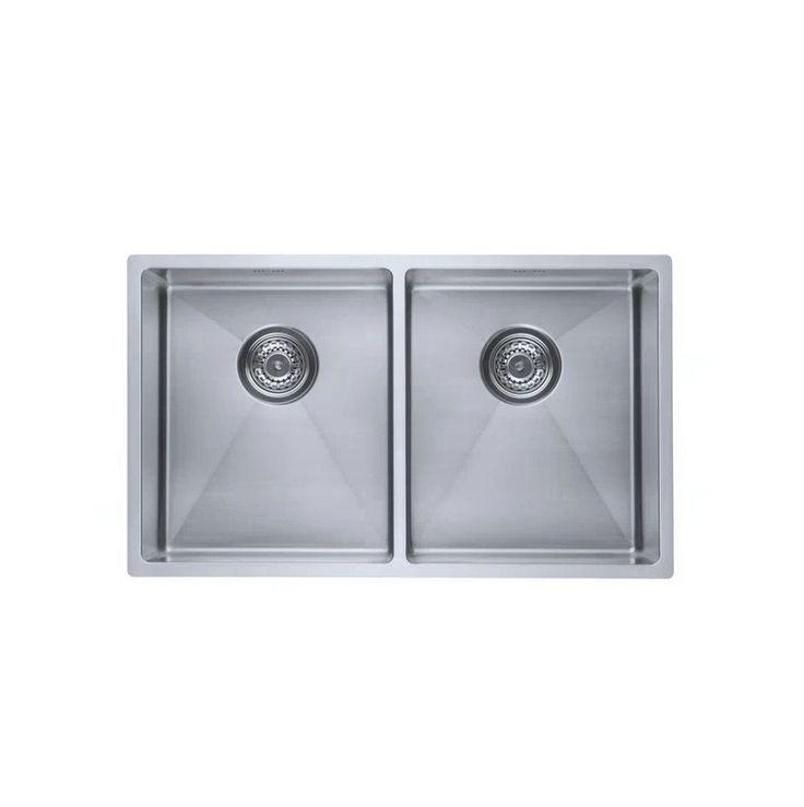 10023 Lavabo  Lavabo Kubus 740 Soft Kjøkkenvask 740x440 mm. Rustfritt stål