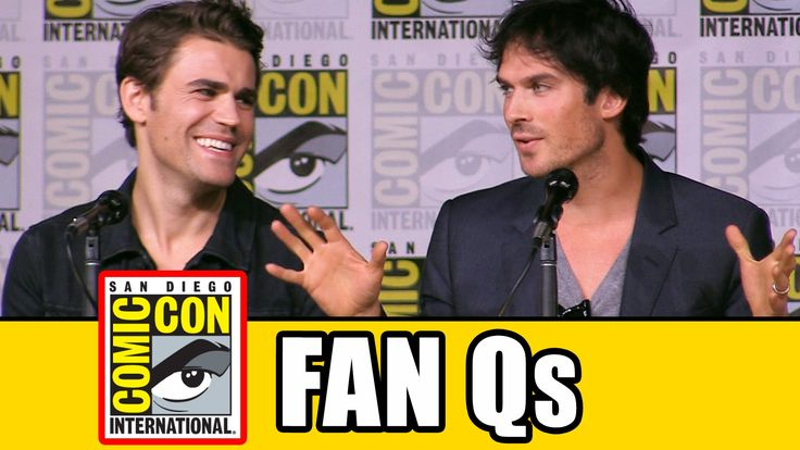 THE VAMPIRE DIARIES Comic Con 2016 Panel Highlights (Part 2) - Ian Somer...