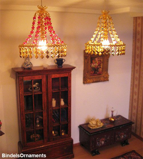Dollhouse Chandelier Tutorial: Dollhouse Tutorial, Doll House