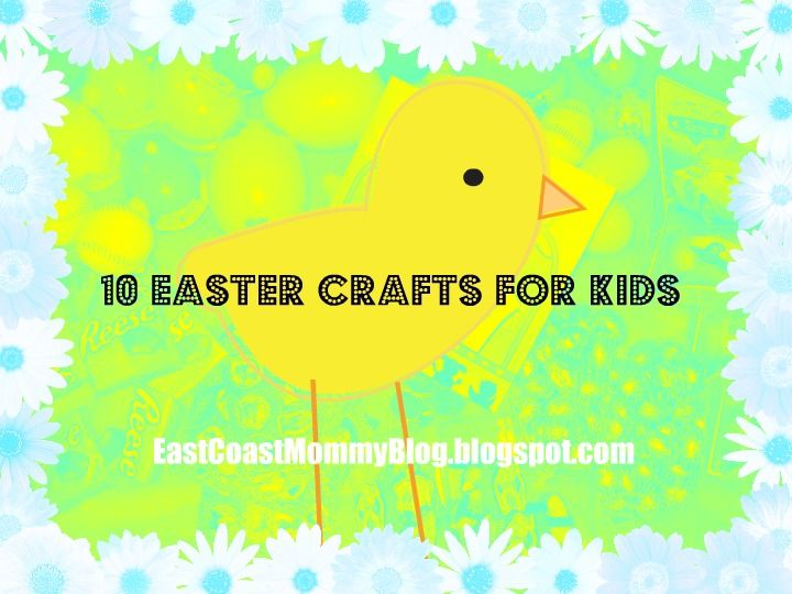 10 Easy and Inexpensive {Easter} Crafts for Kids