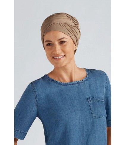 Amoena Daylily (con imágenes) Bufandas modernas, Turbantes,