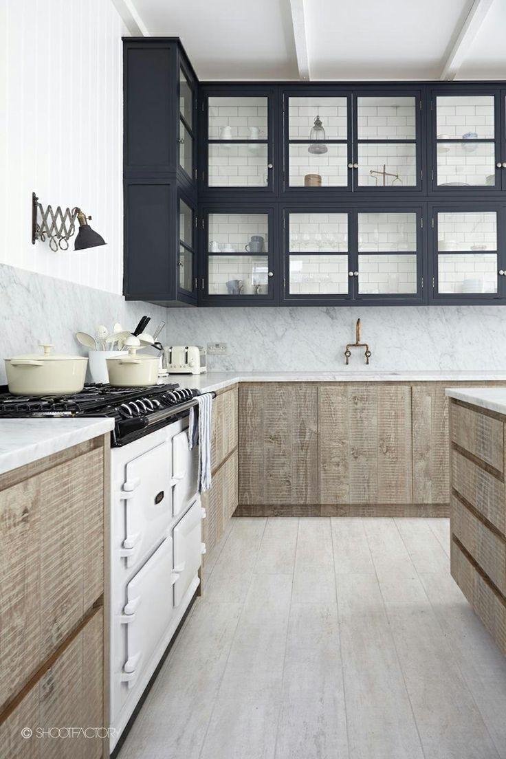 Beautiful Raw Wood Kitchen in London