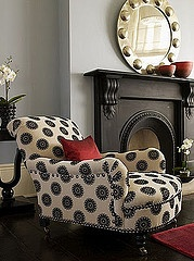 pops . . .I want this chair!  Seriously!  And I wanna paint my fireplace black!