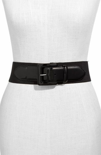 Stretch belt! Exactly what my belly needs lol     Lauren Ralph Lauren Stretch Belt available at #Nordstrom