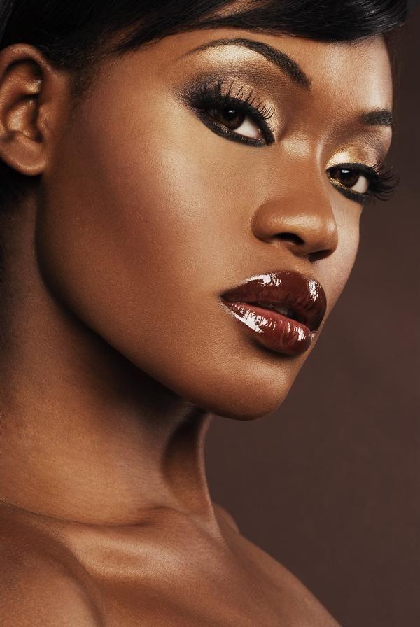 Black girl makeup