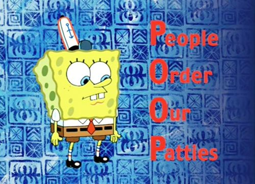 Poop People Order Our Patties Spongebob Pinterest