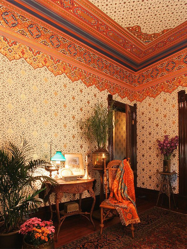 17 best images about olana on pinterest persian - Late victorian wallpaper ...