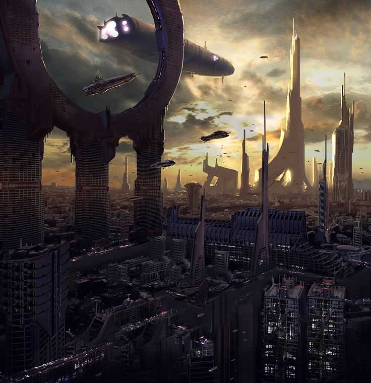 Sci Fi Art At Its Finest By Japanese: 145 Best Images About Sci-Fi: Vistas On Pinterest