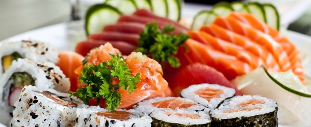 Descubra as calorias da comida japonesa