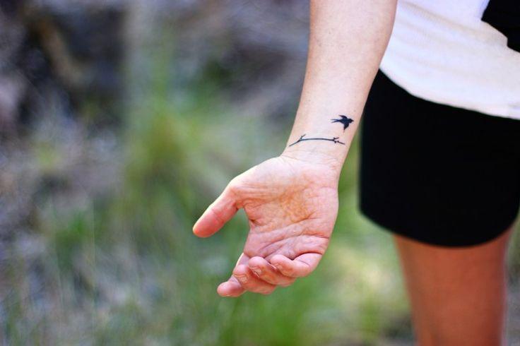 Bird Wrist Tattoos : Bird Wrist Tattoos 133