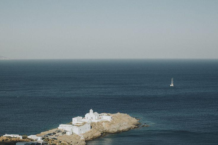 lafete Sifnos, Cyclades, wedding, Chryssopigi church