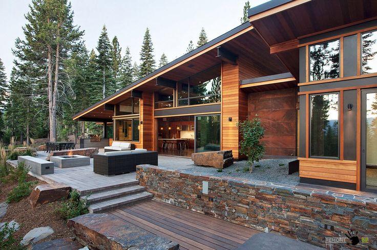 Дизайн домов в стиле Шале: красивый интерьер и экстерьер на фото