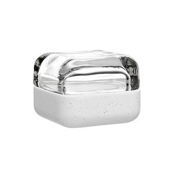 iittala Vitriini Box-60x60 mm Clear/White Durate