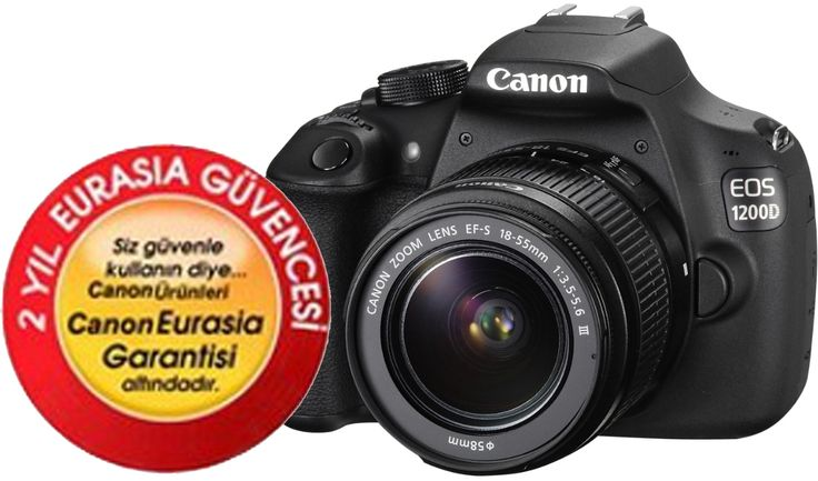 Canon EOS 1200D 18-55mm IS Dijital SLR Fotoğraf Makinesi ::