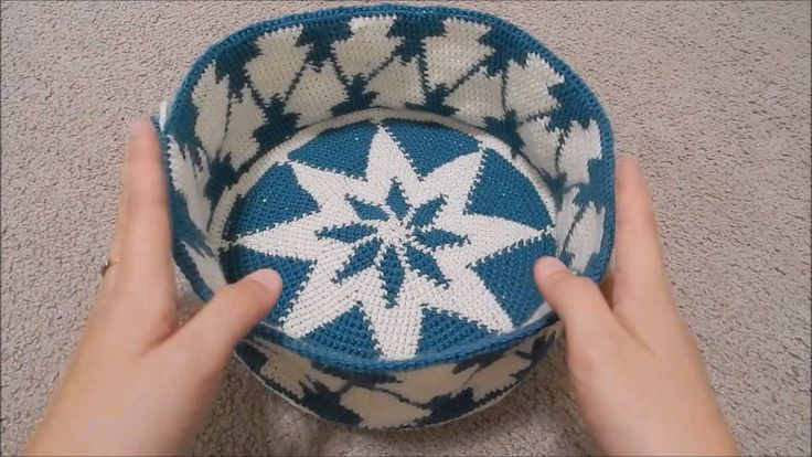 "Lesson 9 of ""Tapestry Crochet for Beginners"" - An Easier Way to Transition from the Base to the Body of a Bag"