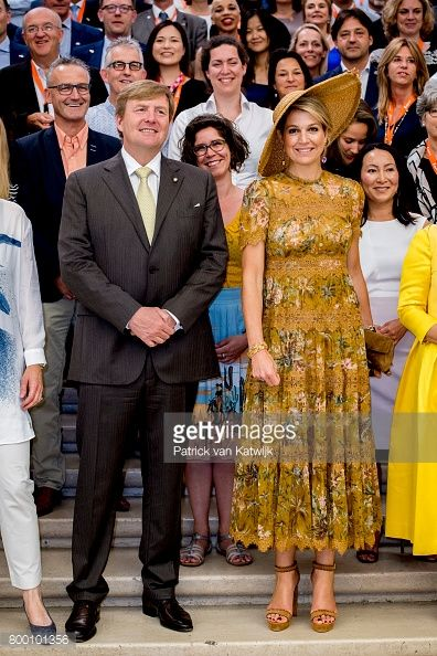 King And Queen Of The Netherlands Visit Italy : Day Four
